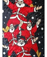 Gymnastics Pyramid of Santa's Christmas Mens Necktie Novelty Tie Select - $3.50
