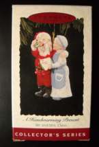 Hallmark Keepsake Christmas Ornament 1994 A Handwarming Present 9th in S... - $6.99
