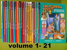 Encyclopedia Brown series, Complete Set, Books 1-21 ( 22 books) [Paperba... - $249.99