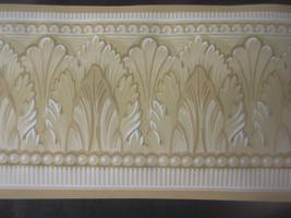 "Lot Of 12 York Unpasted Brown Wallpaper Border 5 Yd X 5.5"" Mg 8176-B Usa - $15.71"