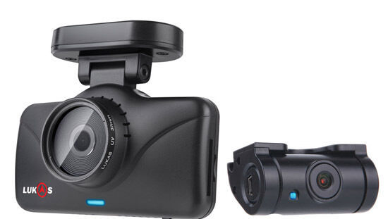 Lukas Lk-7950 WD FHD Wi-Fi 2ch DashCam Car Camera LK7950 NO GPS(8GB+8GB=16GB)