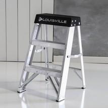 Aluminum Step Ladder Heavy Duty Lightweight Non-Slip Folding Wide-Top30... - $39.46