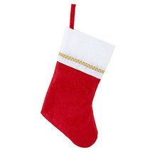 Darice Christmas Stocking: 5 x 12 inches w - $6.99