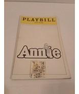 Annie Playbill Alvin Theatre 1979 With Ticket Stub - $7.91