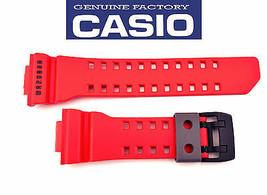 Genuine CASIO G-SHOCK Watch Band Strap GA-400-4B Original Red Rubber  - $28.95