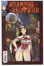 Steampunk Halloween 1 Antarctic Press 2011 FN VF - $4.45