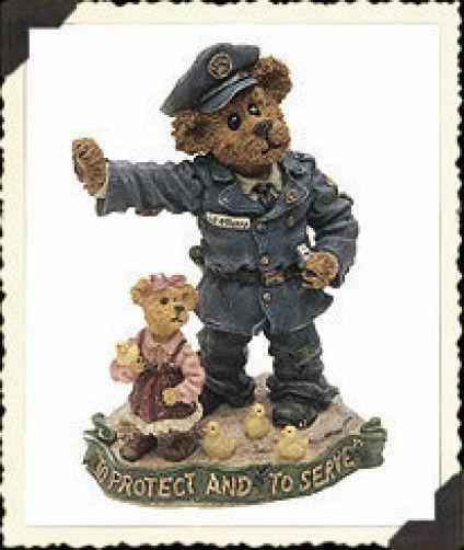 "*Boyds Bearstone* ""Sgt.O'Beara..EverydayHero""  #227745* 1E*NIB* Retired"