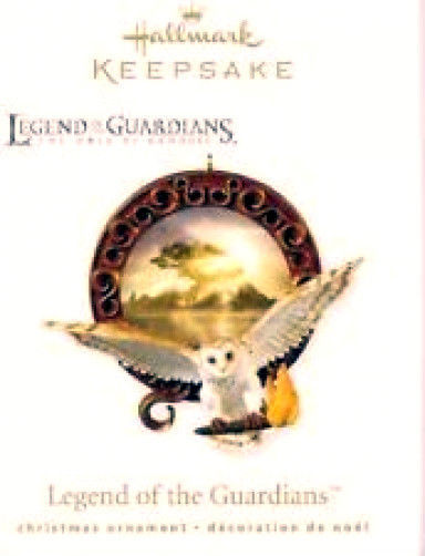 Legend of the Guardians- Handcrafted -#QXG2403- 2010 Hallmark Keepsake Ornament