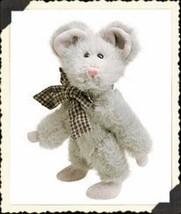 "Boyds Bears ""Chedda Mousaka"" 6"" PLUSH Mouse- #5756-06 *NWT- 1993- Retired - $11.99"