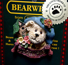 "Boyds BearWear""Aunt Birdie"" 2003 FoB's BearWear Resin Pin- #02003-11-New-Retired - $6.99"