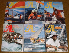 12 Sail Magazine 1980 sailing Ostar Races Cruising boats racing - $20.00
