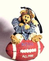 """Boyds Bearstone Ornament  """"Knute... Half Time"""" #25705 -NIB - Retired - $11.99"""