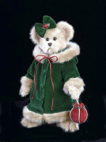 "Bearington Bears ""Decorating the Tree"" 14"" Plush Bear- #1351- NWT- 2002-Retired"