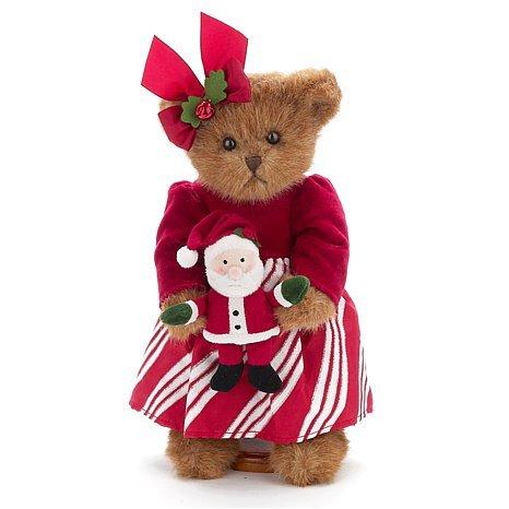 "Bearington Bear ""Chrissy & Claus 14"" QVC LE Plush Bear - #173172 ~ NWT -Retired image 2"