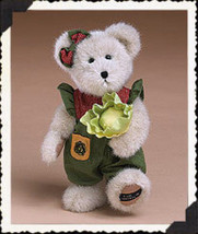 "Boyds Bears ""Lettie McVeggie""- 12""  Paw Exclusive Bear  #919829- NWT- 2004 image 1"