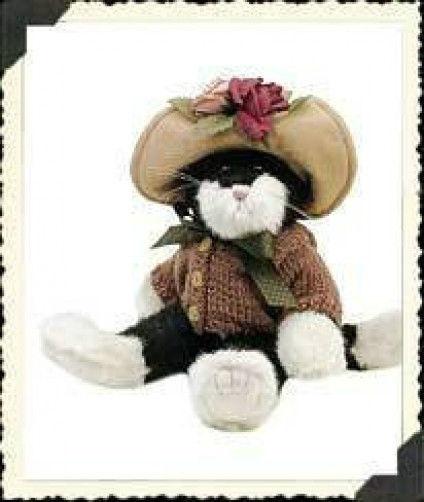 "Boyds Bears ""Mrs. Petrie"" 9"" PlushCat* Archive Style #919752 *1999 *NEW *Retired"