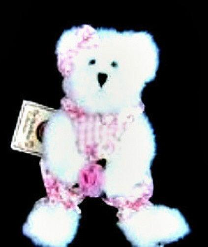 "Boyds Bear ""Gracie L. Bearywell"" #95327LB  8"" Longaberger LE Bear-  2006- NWT image 2"