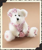 """Boyds Bear """"Gracie L. Bearywell"""" #95327LB  8"""" Longaberger LE Bear-  2006- NWT - $39.99"""