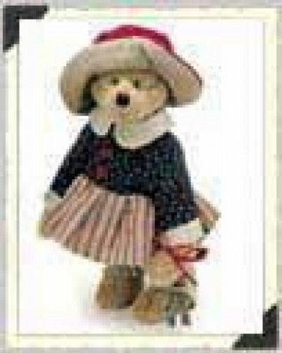 "Boyds Bears ""Betsie B. Jodibear"" 9"" Artisan Plush Bear #92000-07 * New* Retired"