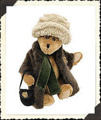 "Boyds Bears"" Aunt Bessie Skidoo"" 9"" Plush Bear #91931 -NWT-1998 - Retired"
