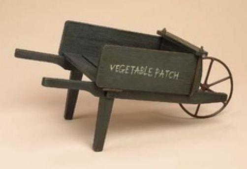 "Boyds Bears ""Radcliff's ""Vegetable Patch"" Wheelbarrow""   #658112 NEW- Retired"