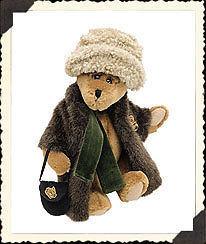 "Boyds Bears"" Aunt Bessie Skidoo"" 9"" Plush Bear #91931 -NWT-1998 - Retired image 2"