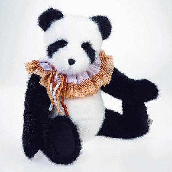 "Boyds Bears ""Panda Boobeary""  16"" Plush Panda Bear - #4017031- NWT -Retired"