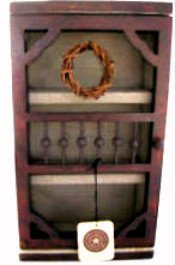 "Boyds Accessory ""Sallys Screen Door Cabinet"" #654857- 14.5"" tall- NIB-Retired image 2"