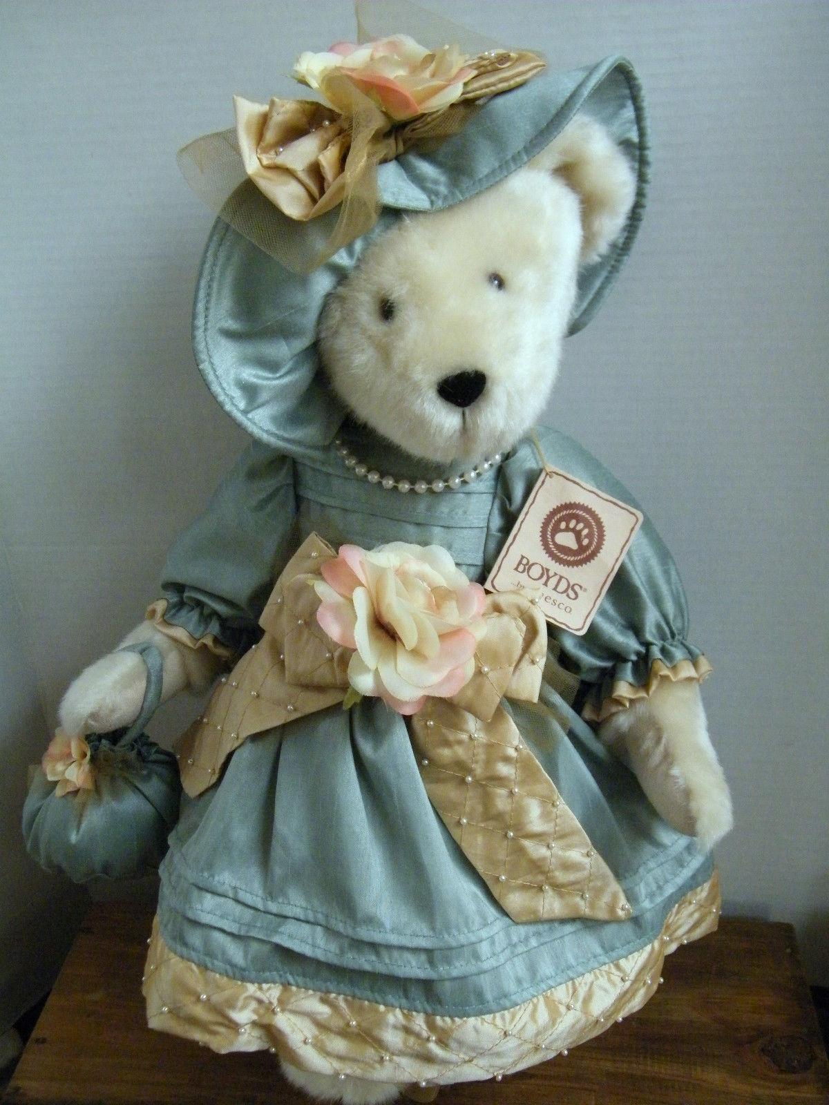 "Boyds Bears ""Pearl Bearsworth""  #4014591Q- 20"" QVC Exclusive Plush Bear-New-2009"
