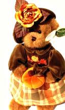 "Bearington Bears ""Autumn Harvester"" 14"" Plush Bear- #1079- NWT- 2004-Retired image 1"