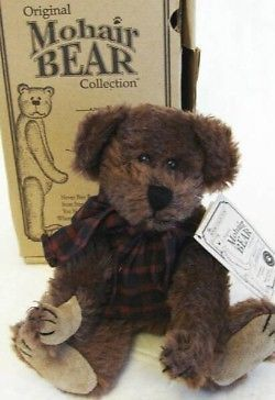 "BOYDS MOHAIR BEAR ""REAGAN V. BEARINGTON"" #590070-05* President *LE* NIB*Retired"