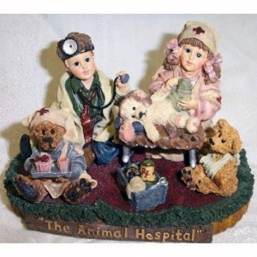 "BoydsDollstone-YesterdaysChild ""Animal Hospital*Ltd. Edition*Retired*#3532* NEW*"
