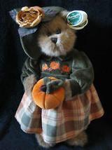 "Bearington Bears ""Autumn Harvester"" 14"" Plush Bear- #1079- NWT- 2004-Retired image 2"
