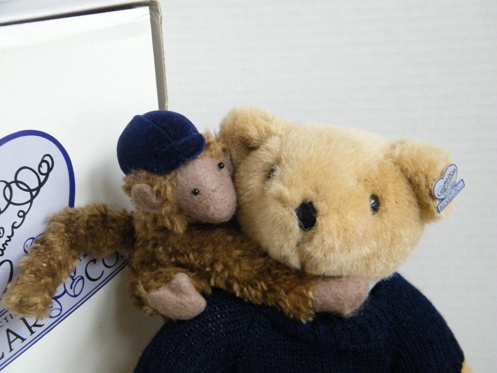 "Annette Funicello ""Annette & Judy"" 13"" LE Plush Bear #C16257-  NIB"