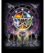 HAUNTED SPELL TRIPLE CAST HIGH MAGICK 3X ADD TO MAGICKAL COVEN SEAL CUSTOM - $43.33