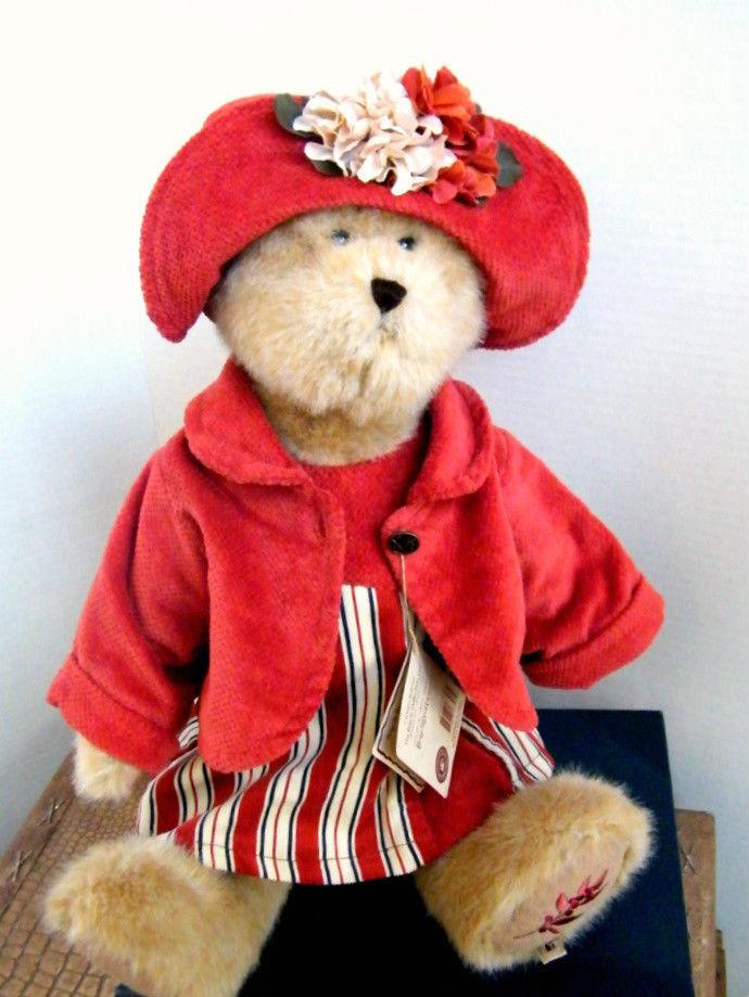 "Boyds Bears ""AMBER FALLSWORTH"" 16"" Fall Plush Bear  #904550 -NWT-2008- Retired image 4"