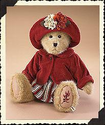 "Boyds Bears ""AMBER FALLSWORTH"" 16"" Fall Plush Bear  #904550 -NWT-2008- Retired image 3"