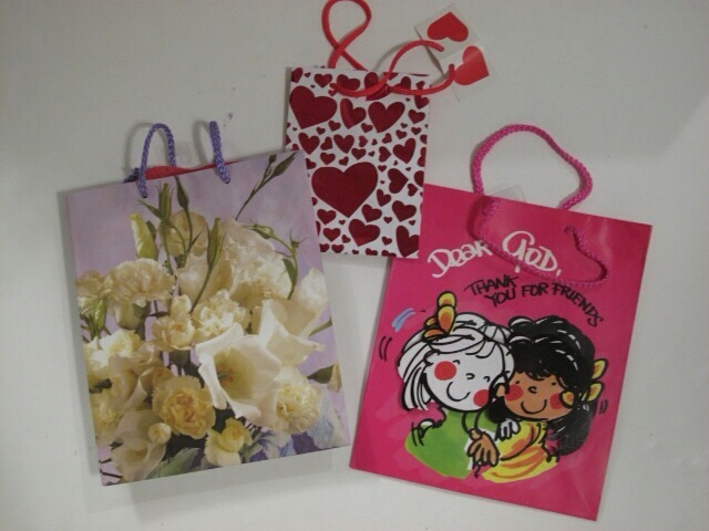 Primary image for Assortment of Paper Gift Bags Set of 3