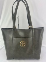 Giani Bernini Glazed Leather Shoulder Tote - $59.99