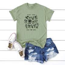 Plus Slogan Plants Print Tee - $66.95
