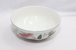"Mikasa Continental Silk Flowers Serving Bowl 8.25""  - $32.33"