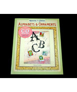 Alphabets and Ornaments with CD for Scrapbooking and Cards - $11.99