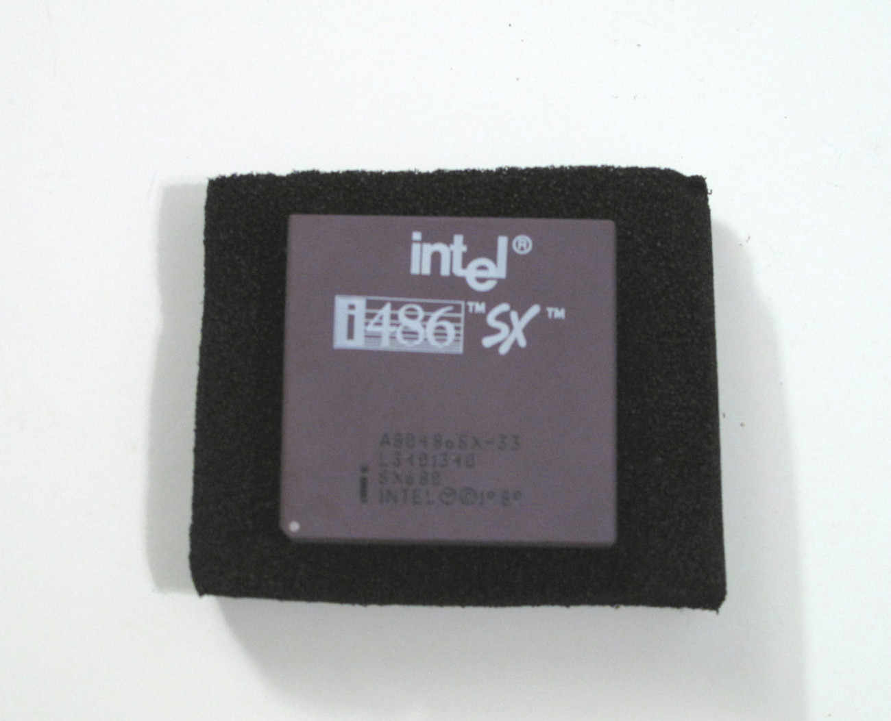 Primary image for Intel Vintage CPU Processor i486SX A80486SX-33