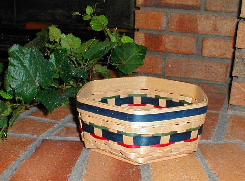 "Longaberger 10"" Generations Basket Natural Stain Award Basket Rare Mint"