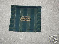 Longaberger Basket Handle Gripper Collector Club Stripe Green Blue Charter New