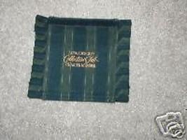 Longaberger Basket Handle Gripper Collector Club Stripe Green Blue Chart... - $9.85