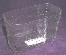 Longaberger Whistle Stop Basket Plastic Protector Only 2000 Collector Club New - $14.80