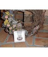 Longaberger Pottery 1996 Sweetheart Bouquet Flower Basket Tie On New In box - $7.87