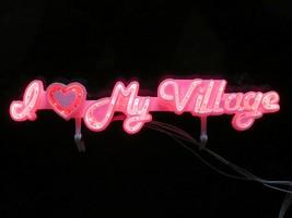 I Heart My Village Brite Lites Dept 56 Lighted Village Accessory 52221 C... - $9.99
