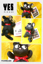 Ghibli studio kikis delivery service ornament plush jiji cat 0 thumb200